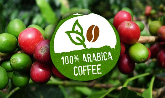 Café arábica 100 por cien.